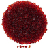 Red Glass Mosaic Pebbles
