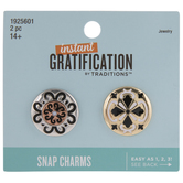 Ornate & Geometric Snap Charms