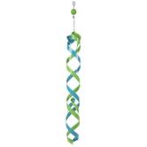 Blue & Green Metal Spinner Mobile