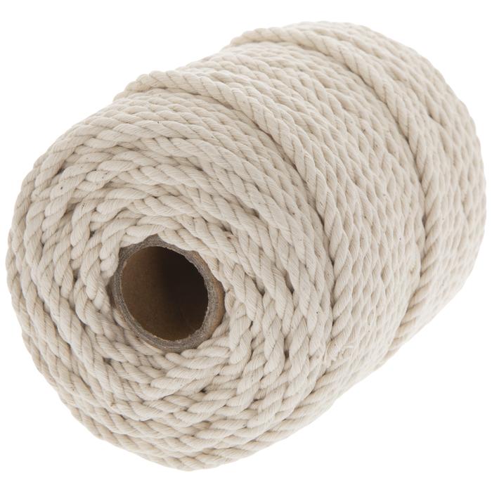 makrame yarn crochet string string 100 meters decor craft DIY cord macrame cord Cotton rope knitting cord cotton string 5mm