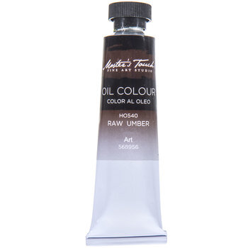Raw Umber Master's Touch Oil Paint - 1.7 Ounce