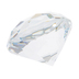 Clear Diamond Paperweight
