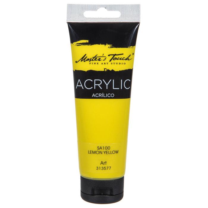 Lemon Yellow Master S Touch Acrylic Paint 4 1 Ounce Hobby Lobby 8355