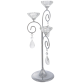 Three-Tier Glass Candle Holder