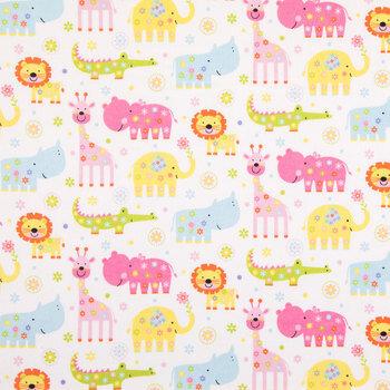 Nursery Safari Flannel Fabric