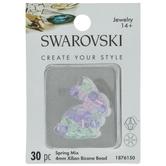 Spring Swarovski Xilion Bicone Bead Mix - 4mm