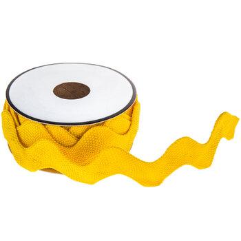 "Yellow Rick Rack Trim - 1"""