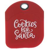 Cookie For Santa Cake Scraper