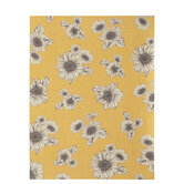 "Textured Sunflowers Scrapbook Paper - 8 1/2"" x 11"""