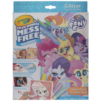 Crayola My Little Pony Color Wonder Coloring Kit