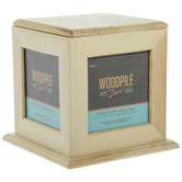 Spinning Cube Wood Frame