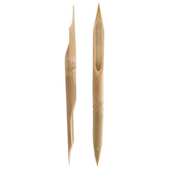 Double Ended Bamboo Sketch Pens - 2 Piece Set