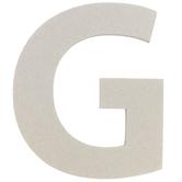 "Chipboard Letter G - 8"""