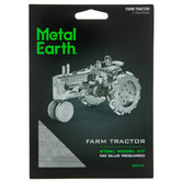Farm Tractor Metal Earth Kit