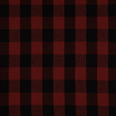 Red & Black Homespun Buffalo Check Cotton Calico Fabric