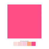 "Pink Cardstock Paper Pack - 12"" x 12"""
