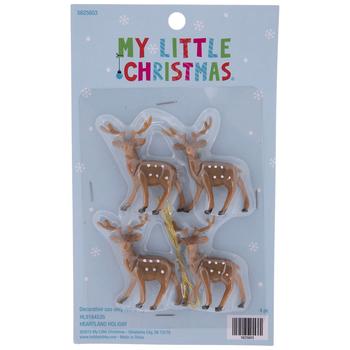 Mini Reindeer Ornaments