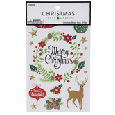 Christmas Phrases & Figures Stickers