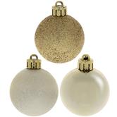 Shiny, Speckled & Glitter Mini Ornaments