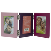 "Pink & Purple Metal Collage Frame - 2"" x 3"""