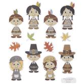 Native Americans & Pilgrims Stickers