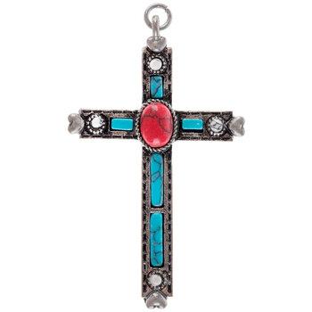 Cross Cabochon Pendant