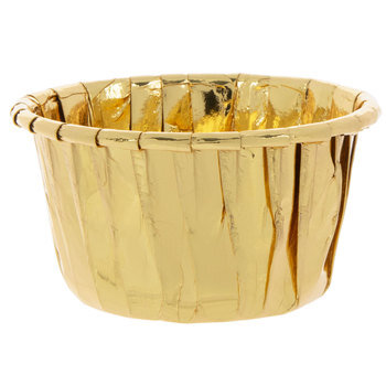 Gold Paper Candy Cups