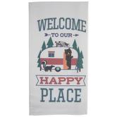 Happy Place Camper Kitchen Towel