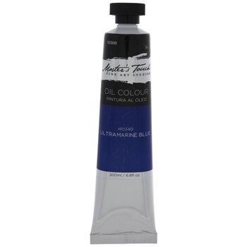 Ultramarine Blue Master's Touch Oil Paint - 6.8 Ounce