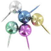 Metallic Push Pins