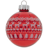 Ugly Sweater Ball Ornaments