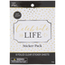 Foiled Celebrate Life Stickers