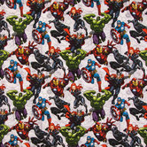 Avengers Unite Cotton Calico Fabric