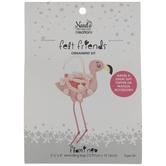 Felt Flamingo Needle Art Kit