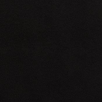 Black Plush Felt Fabric