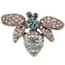 Bee Rhinestone Brooch