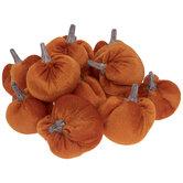 Orange Velvet Pumpkin Filler