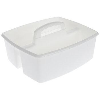 White Storage Caddy
