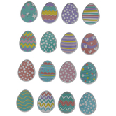 Easter Egg Puffy Stickers