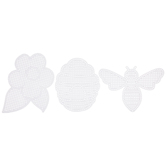 Bee, Flower & Hive 8-Mesh Plastic Canvas Sheets