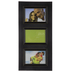 Black Wood Collage Wall Frame