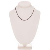"Diamond Link Chain Necklace - 16"""