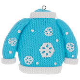 Snowflake Ugly Sweater Ornament