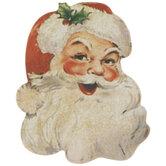 Vintage Santa Cutouts