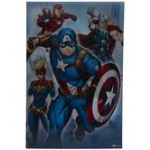 Avengers & Villains Lenticular Wood Wall Decor