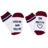 Tell Me I'm Pretty Crew Socks