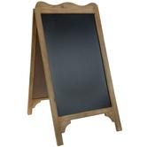 Wood Frame Chalkboard Easel