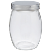 Round Glass Mason Jar