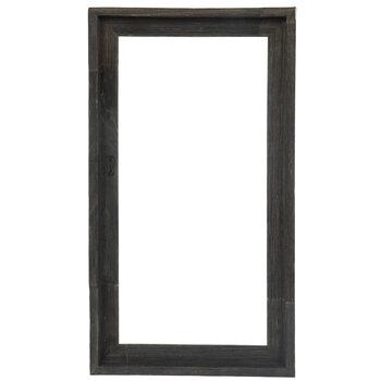 """Gray Barnwood Open Frame - 10"""" x 20"""""""