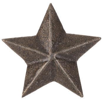 Metal Star Knob